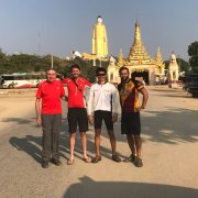 2017 January_15 days Best Bike Tour:  Cycling with Rick Smith & Drew (from Mandalay to Monywa)