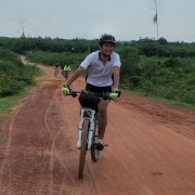2016 August : Yangon - Dala - Twente - Yangon day bike tour