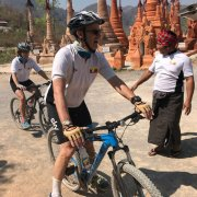 2017 February_19 Days Myanmar Bike Tour : Cycling with the Mackinnon (arrived at Inle Lake)