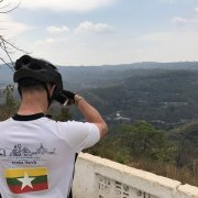 2017 February: Cycling with the Mackinnon (from Hsipaw to Maymyo)